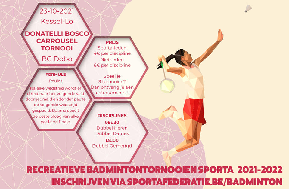 Badmintontornooi BC DOBO